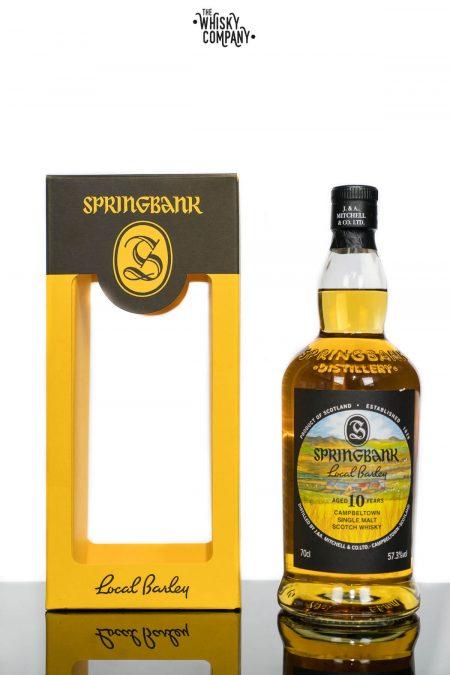 Springbank Local Barley Aged 10 Years Campbeltown Single Malt Scotch Whisky (700ml)