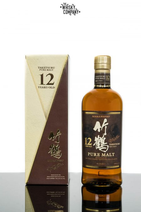 Nikka Taketsuru 12 Years Old Pure Malt Japanese Blended Whisky (700ml)