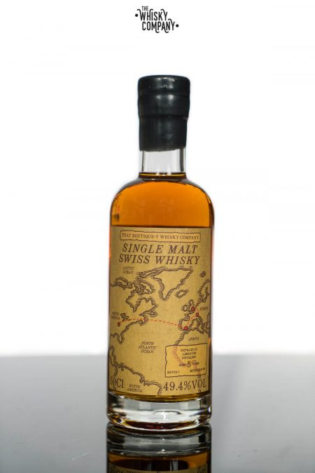 Langatun Aged 5 Years Batch 1 Single Malt Swiss Whisky- That Boutique-Y Whisky Company (500ml)