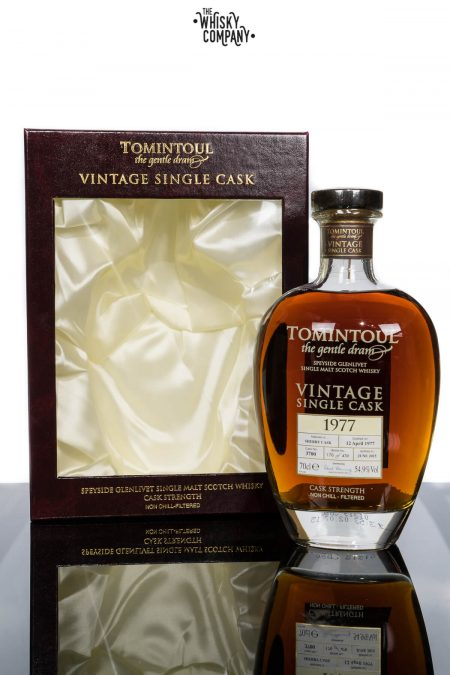 Tomintoul 1977 Vintage Aged 38 Years Speyside Single Malt Scotch Whisky (700ml)
