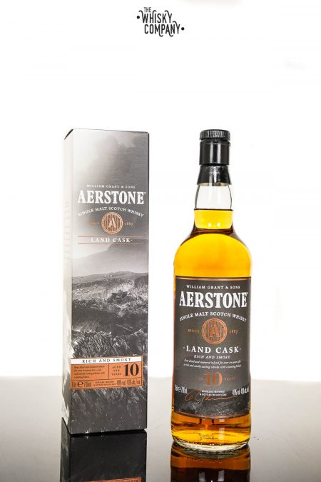 Aerstone Land Cask Aged 10 Years Single Malt Scotch Whisky (700ml)