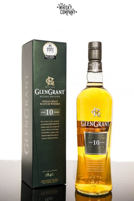 Glen Grant Aged 10 Years Speyside Single Malt Scotch Whisky (700ml)