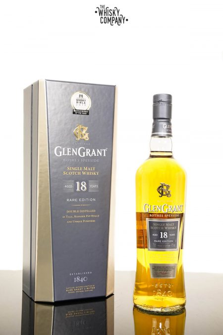 Glen Grant Aged 18 Years Speyside Single Malt Scotch Whisky (700ml)