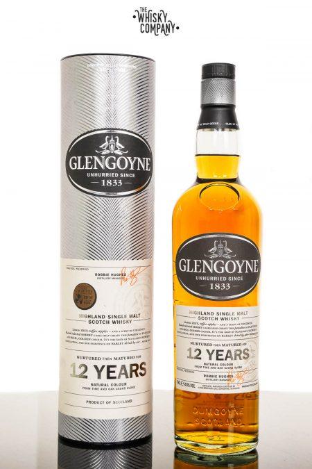 Glengoyne Aged 12 Years Highland Single Malt Scotch Whisky (700ml)