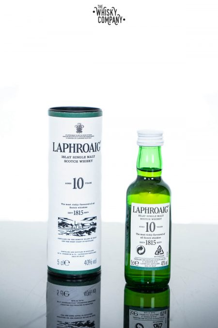 Laphroaig Aged 10 Years Islay Single Malt Whisky (50ml)