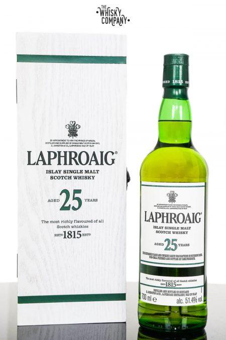 Laphroaig 25 Years Old Islay Single Malt Scotch Whisky (700ml)