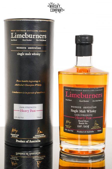 Limeburners Heavy Peat Cask Strength Australian Single Malt Whisky (700ml)