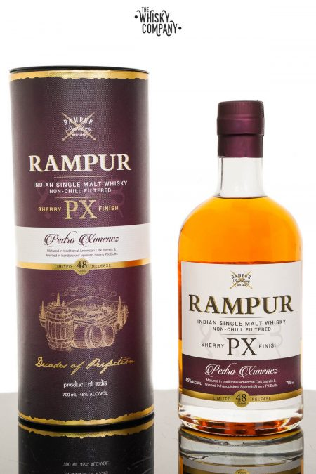 Rampur Sherry Cask Single Malt Whisky (700ml)