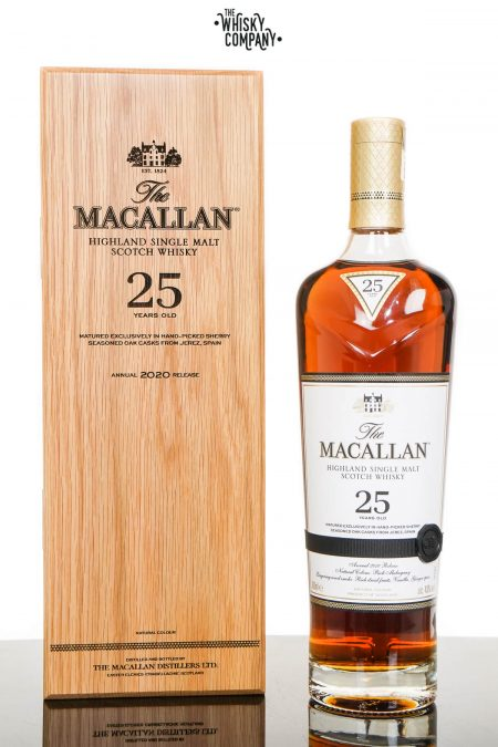 The Macallan 25 Years Old Sherry Oak 2020 Release Single Malt Scotch Whisky (700ml)