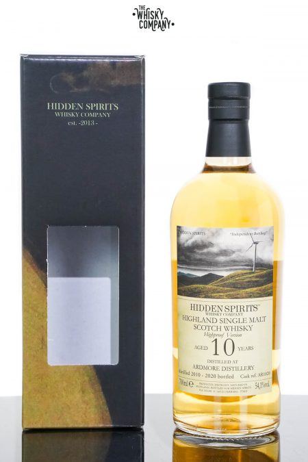 Ardmore 2010 Aged 10 Years Single Malt Scotch Whisky - Hidden Spirits (700ml)