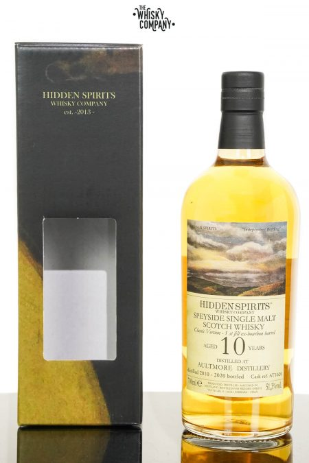 Aultmore 2010 Aged 10 Years Single Malt Scotch Whisky - Hidden Spirits (700ml)