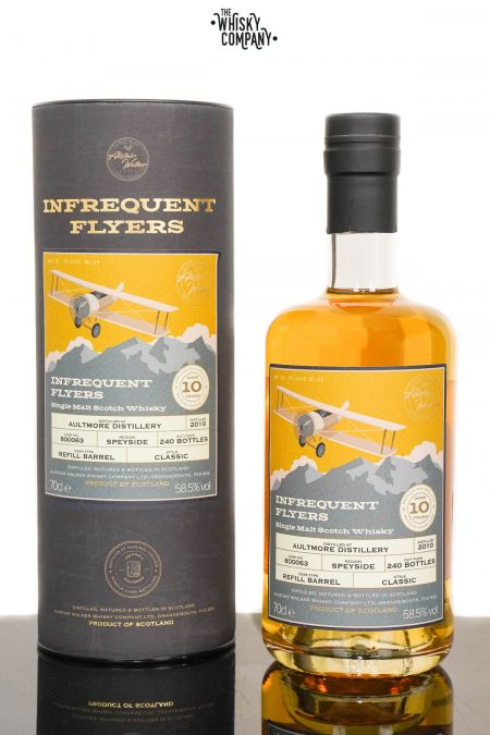Aultmore 2010 Aged 10 Years Single Malt Scotch Whisky - Infrequent Flyers #28 (700ml)