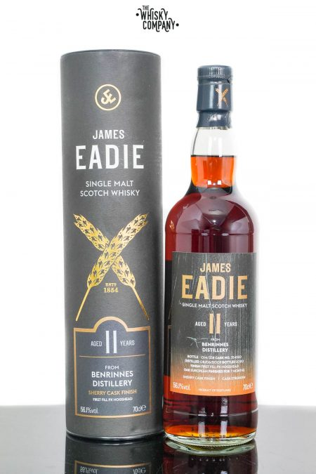 Benrinnes 2009 Aged 11 Years Single Malt Scotch Whisky - James Eadie (700ml)