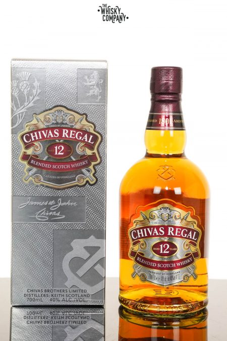 Chivas Regal Aged 12 Years Blended Scotch Whisky (700ml)