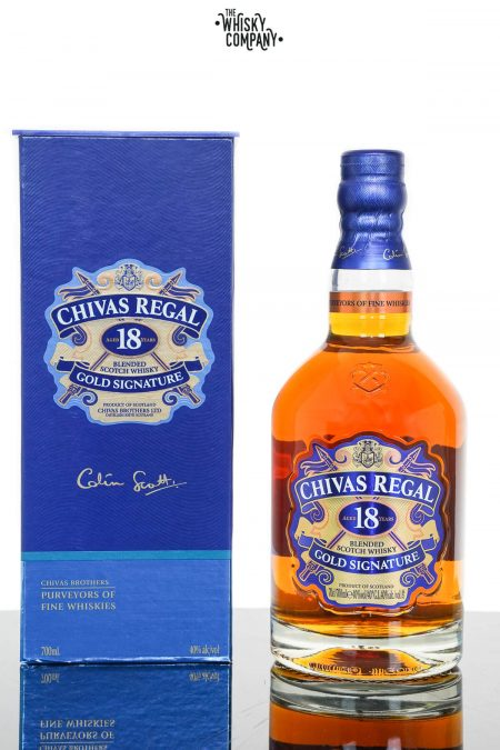 Chivas Regal Aged 18 Years Blended Scotch Whisky (700ml)