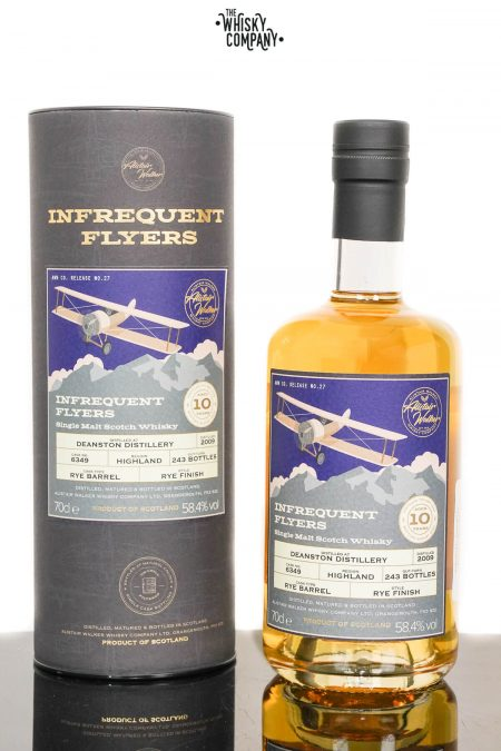 Deanston 2009 Aged 10 Years Single Malt Scotch Whisky - Infrequent Flyers #16 (700ml)
