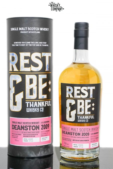 Deanston 2009 Aged 10 Years Old Single Malt Scotch Whisky - Rest and Be Thankful (700ml)
