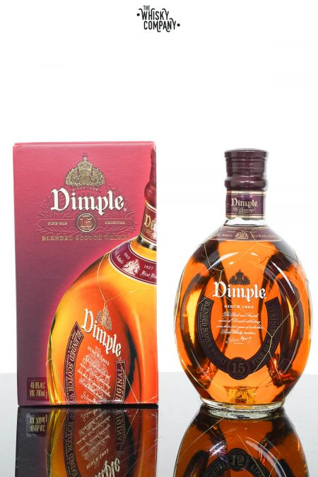 Dimple Aged 15 Years Blended Scotch Whisky (700ml)