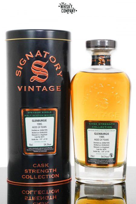 Glenburgie 1995 Aged 24 Years Cask Strength Single Malt Scotch Whisky - Signatory Vintage (700ml)
