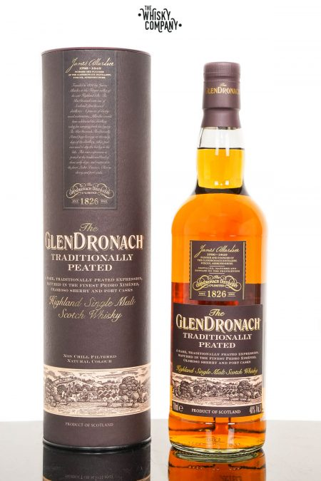 GlenDronach Traditionally Peated Single Malt Scotch Whisky (700ml)