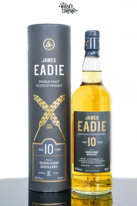 Glenlossie Aged 10 Years Single Malt Scotch Whisky - James Eadie (700ml)