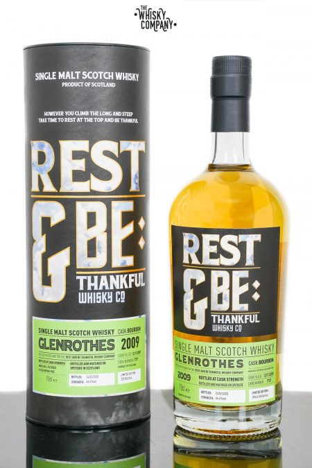Glenrothes 2009 Aged 10 Years Old Single Malt Scotch Whisky - Rest and Be Thankful (700ml)