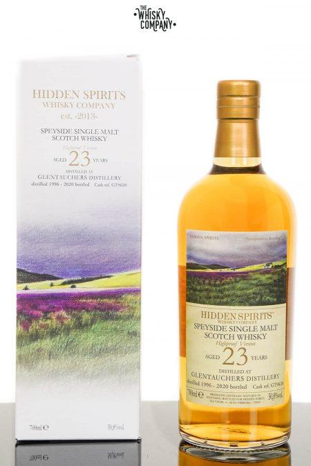 Glentauchers 1996 Aged 23 Years Speyside Single Malt Scotch Whisky - Hidden Spirits (700ml)
