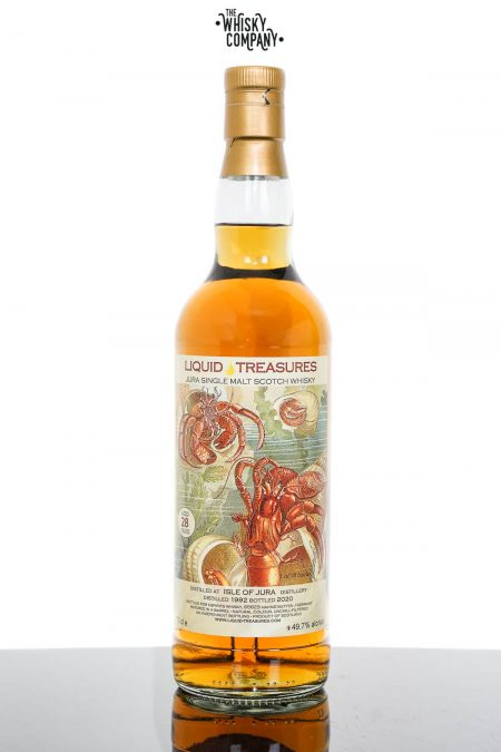 Isle Of Jura 1992 Aged 28 Years Single Malt Scotch Whisky - Liquid Treasures (700ml)