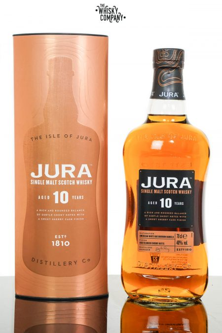 Jura Aged 10 Years Single Malt Scotch Whisky (700ml)