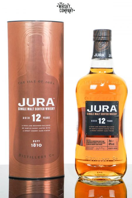 Jura Aged 12 Years Single Malt Scotch Whisky (700ml)