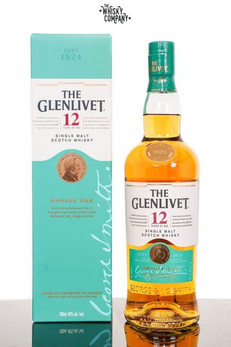 The Glenlivet 12 Year Old Double Oak Speyside Single Malt Scotch Whisky (700ml)
