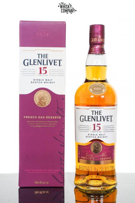 The Glenlivet 15 Year Old French Oak Reserve Single Malt Scotch Whisky (700ml)