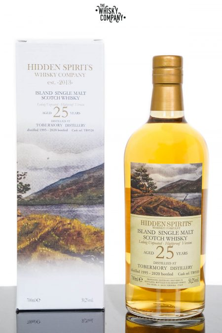 Tobermory 1995 Aged 25 Years Single Malt Scotch Whisky - Hidden Spirits (700ml)