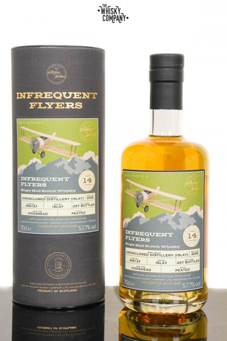 Undisclosed Distillery Islay 2006 Aged 14 Years Single Malt Scotch Whisky - Infrequent Flyers #24 (700ml)