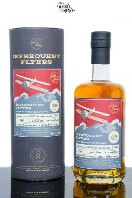 Undisclosed Distillery Speyside 1992 Aged 28 Years Single Malt Scotch Whisky - Infrequent Flyers #23 (700ml)