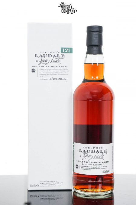 Glen Elgin Laudale Batch 4 Aged 12 Years Single Malt Scotch Whisky - Adelphi (700ml)