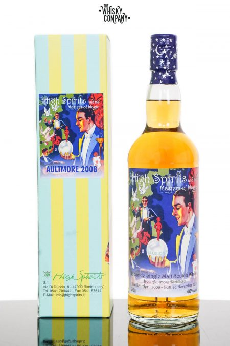 Aultmore 2008 Aged 11 Years Single Malt Scotch Whisky - High Spirits (700ml)