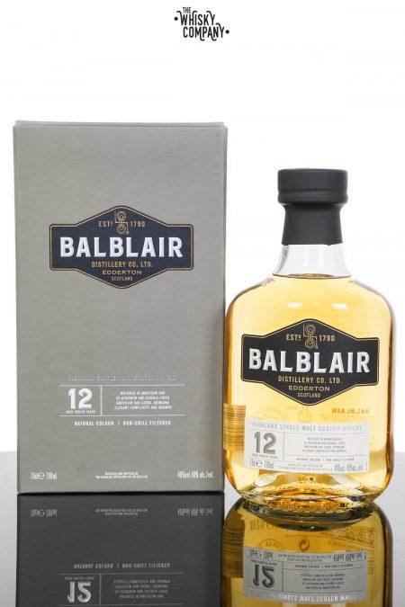 Balblair 12 Years Old Single Malt Scotch Whisky (700ml)
