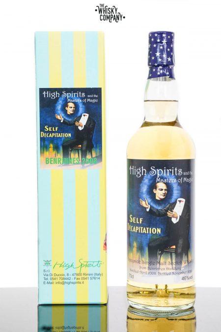 Benrinnes 2008 Aged 11 Years Single Malt Scotch Whisky - High Spirits (700ml)