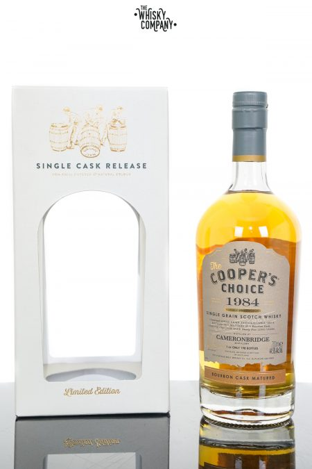 Cameronbridge 1984 Aged 35 Years Single Grain Scotch Whisky - The Cooper's Choice (700ml)