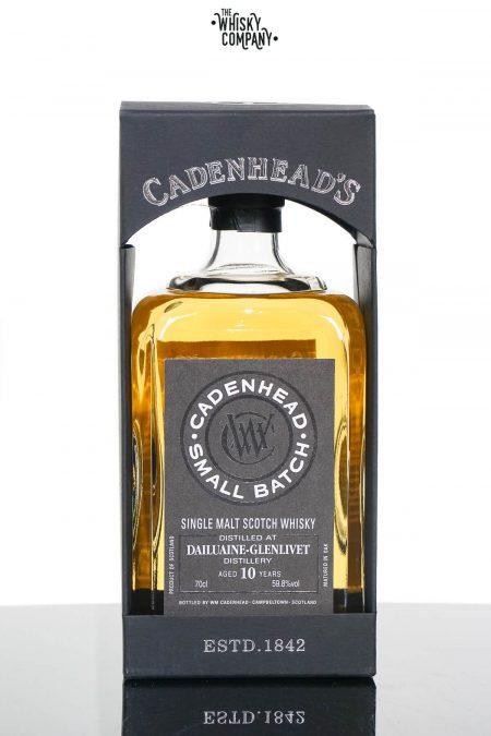 Dailuaine-Glenlivet 2008 Aged 10 Years Single Malt Scotch Whisky - Cadenhead's (700ml)