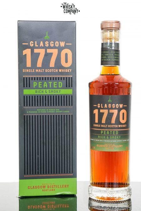 Glasgow 1770 Peated Single Malt Scotch Whisky (500ml)