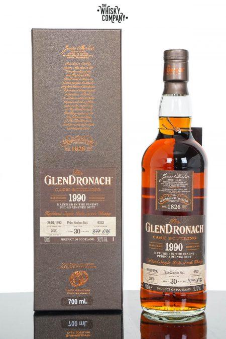 GlenDronach 1990 Aged 30 Years Single Malt Scotch Whisky - Batch 18 Cask No. 9333 (700ml)