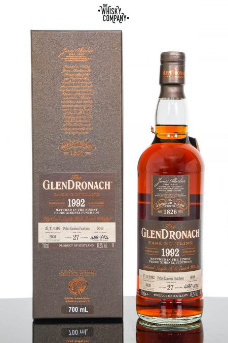 GlenDronach 1992 Aged 27 Years Single Malt Scotch Whisky - Batch 18 Cask No. 6049 (700ml)