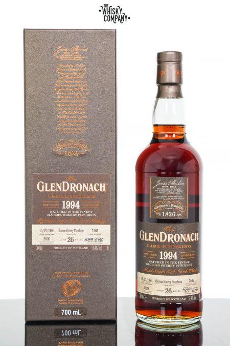 GlenDronach 1994 Aged 26 Years Single Malt Scotch Whisky - Batch 18 Cask No. 7465 (700ml)