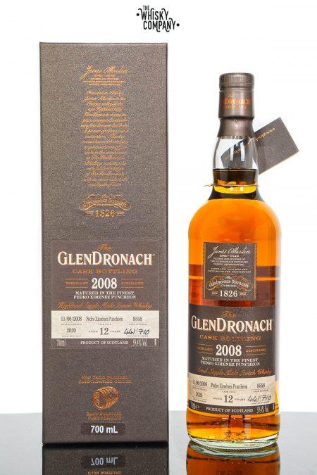 GlenDronach 2008 Aged 12 Years Single Malt Scotch Whisky - Batch 18 Cask No. 8558 (700ml)