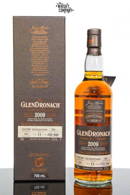 GlenDronach 2009 Aged 11 Years Single Malt Scotch Whisky - Batch 18 Cask No. 2039 (700ml)