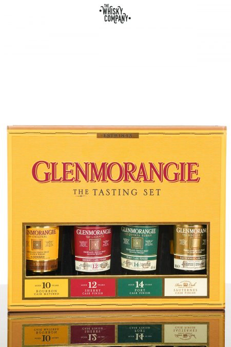 Glenmorangie Single Malt Whisky Tasting Set - 4 x 100ml