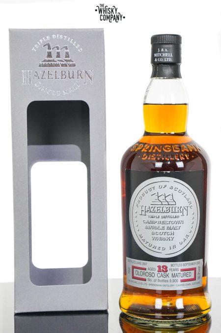 Hazelburn 2007 Aged 13 Years Campbeltown Single Malt Scotch Whisky - Oloroso Sherry Cask Matured (700ml)