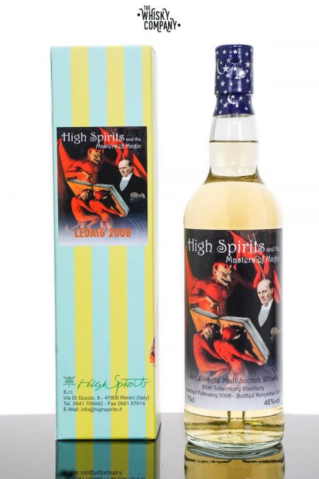 Ledaig 2008 Aged 11 Years Single Malt Scotch Whisky - High Spirits (700ml)